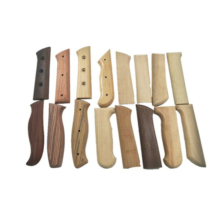 Wood handle for kinfe tableware