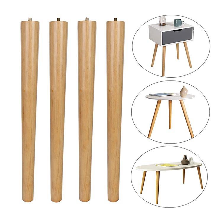 Solid long wood leg